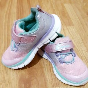 Baby girl sneakers size 6